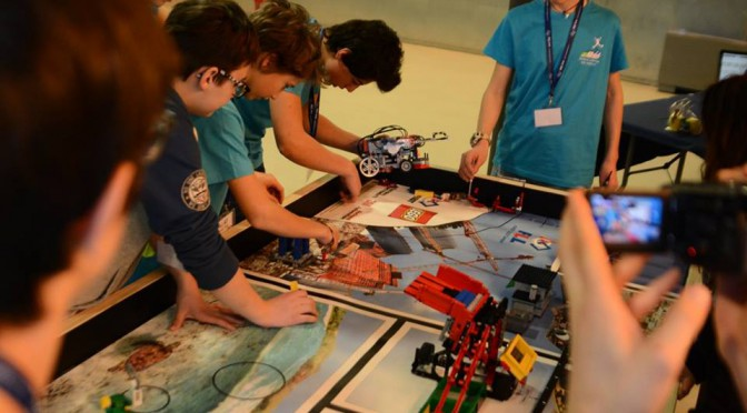 First Lego League Italia: Pistoia presenta lo smaltimento intelligente