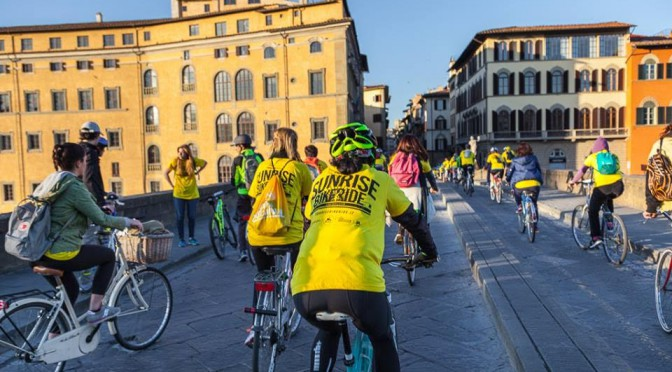 Sunrise Bike Bicincittà all'alba a Firenze: scopri quando e come partecipare